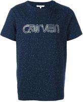 Carven glitter effect logo T-shirt