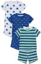 Boys Next Multi Star Snuggle Fit Pyjamas Three Pack (9mths-8yrs)