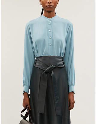 Joseph Luke silk toile blouse