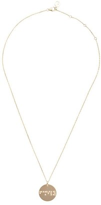 Anissa Kermiche 18kt yellow gold Family pendant necklace