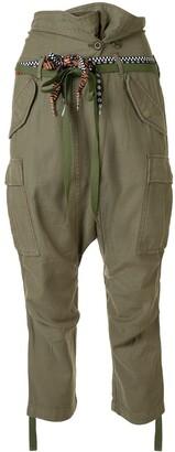 R 13 Tie-Waist Trousers