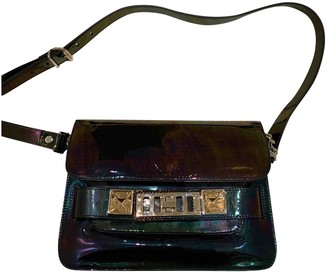 Proenza Schouler PS11 Metallic Patent leather Handbags