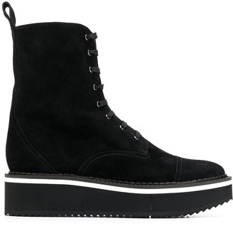Clergerie short platform boots