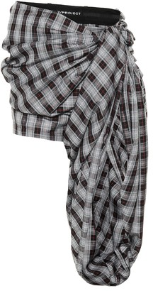 Y/Project Plaid shorts