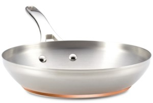 """Anolon Nouvelle Copper-Stainless Steel 10.5"""" French Skillet"""