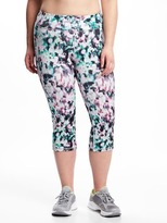 Old Navy Mid-Rise Plus-Size Compression Capris