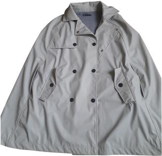 Petit Bateau Grey Polyester Trench coats