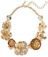 Oscar de la Renta Gold-plated Necklace - one size