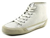 Hogan Polacco Women Round Toe Synthetic White Tennis Shoe.