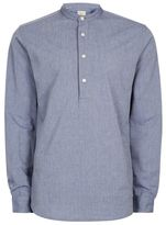 Selected Blue Button Up Shirt
