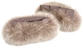 Max Mara 'S Max Suzanna fur cuffs
