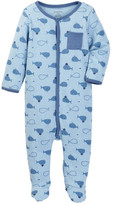 Absorba Blue Whale Footie (Baby Boys)