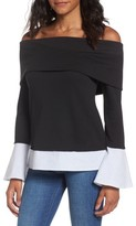 Socialite Women's Off The Shoulder Sweatshirt