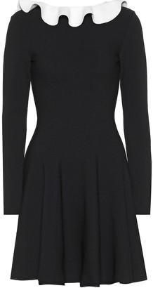 Valentino long-sleeved knit dress