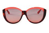 Fendi Rose Gradient Havana & Coral Sunglasses