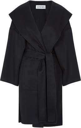 Loewe Hooded Wool Coat