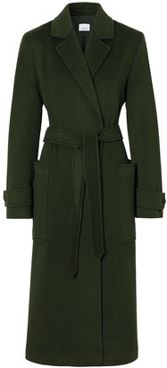 Burberry Belted Mid-Length Coat