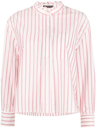 Luisa Cerano Stripe Cotton Shirt