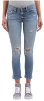 Rag & Bone Women's Capri Mid-Rise Jean in Gunner