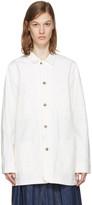 Chimala Off-white Painted Work Jacket
