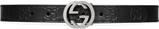 Gucci Children's GG space print belt