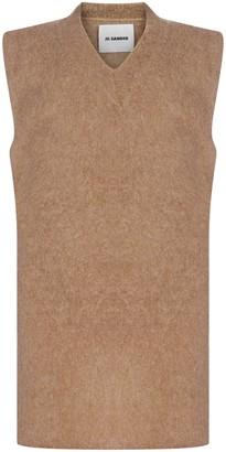 Jil Sander V-Neck Knitted Vest