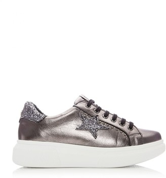 M By Moda Aaliyah Pewter Leather