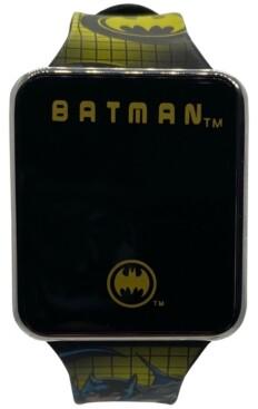 Accutime Kid's Batman Silicone Strap Touchscreen Watch 36x33mm