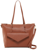 Urban Expressions November Pebbled Vegan Leather Tote
