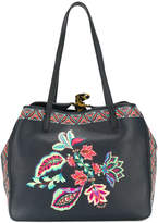 Etro floral print tote