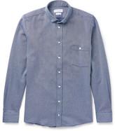 Richard James - Button-down Collar Woven Cotton Shirt