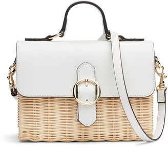 Banana Republic Wicker Crossbody Bag
