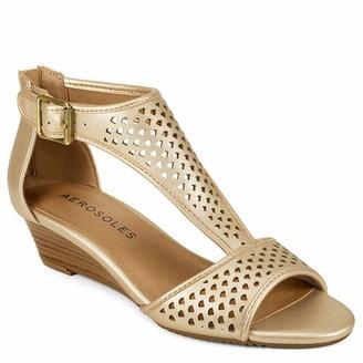 Aerosoles Womens Sapphire Gold 10M