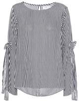Velvet Adia striped top