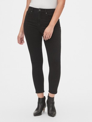 Gap High Rise Studded True Skinny Ankle Jeans with Secret Smoothing Pockets