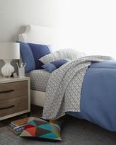 """Coyuchi Blue """"Elie"""" Bed Linens"""
