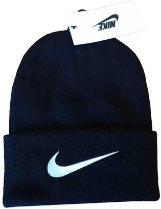 Stussy Nike X Black Cotton Hats & pull on hats