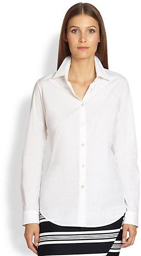 Max Mara Classic Cotton Poplin Shirt