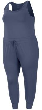 Nike Plus Size Dri-fit Yoga Jumpsuit