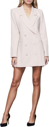 Good American Long Sleeve Double Breasted Blazer Dress