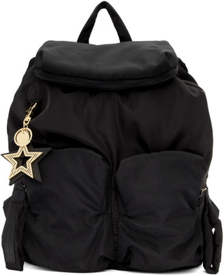See by Chloe Black Joy Rider Backpack