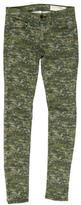 Rag & Bone Camouflage Skinny Jeans