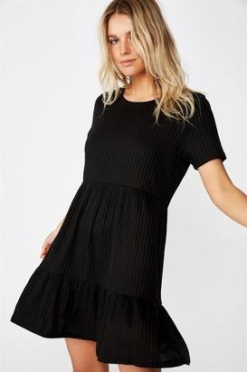 Cotton On Carissa Short Sleeve Babydoll Mini Dress