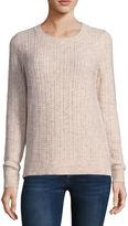 Liz Claiborne Long Sleeve Pullover Sweater-Talls