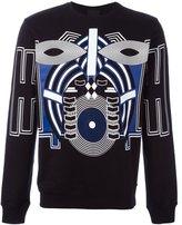 Les Hommes graphic print sweatshirt