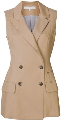 By Any Other Name Tailored Sleeveless Jacket