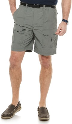 Croft & Barrow Men's Belted Ripstop Cargo Shorts