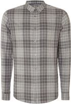 Linea Men's Tasse Large Scale Check Shirt
