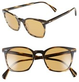 Oliver Peoples Women's 'L.a. Coen Sun' 49Mm Retro Sunglasses - Brown/ Champagne