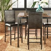 Inspire Q Darcy Metal Upholstered Counter Height Dining Chairs (Set of 4)